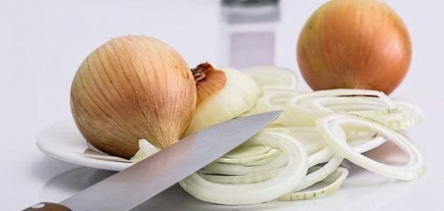 طريقة تخزين البصل المفروم في الفريزر